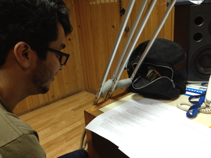 Psicofonias Radiodrama Realización Podcast Audio Relatos Radio ILCE Juan Pablo Sotela